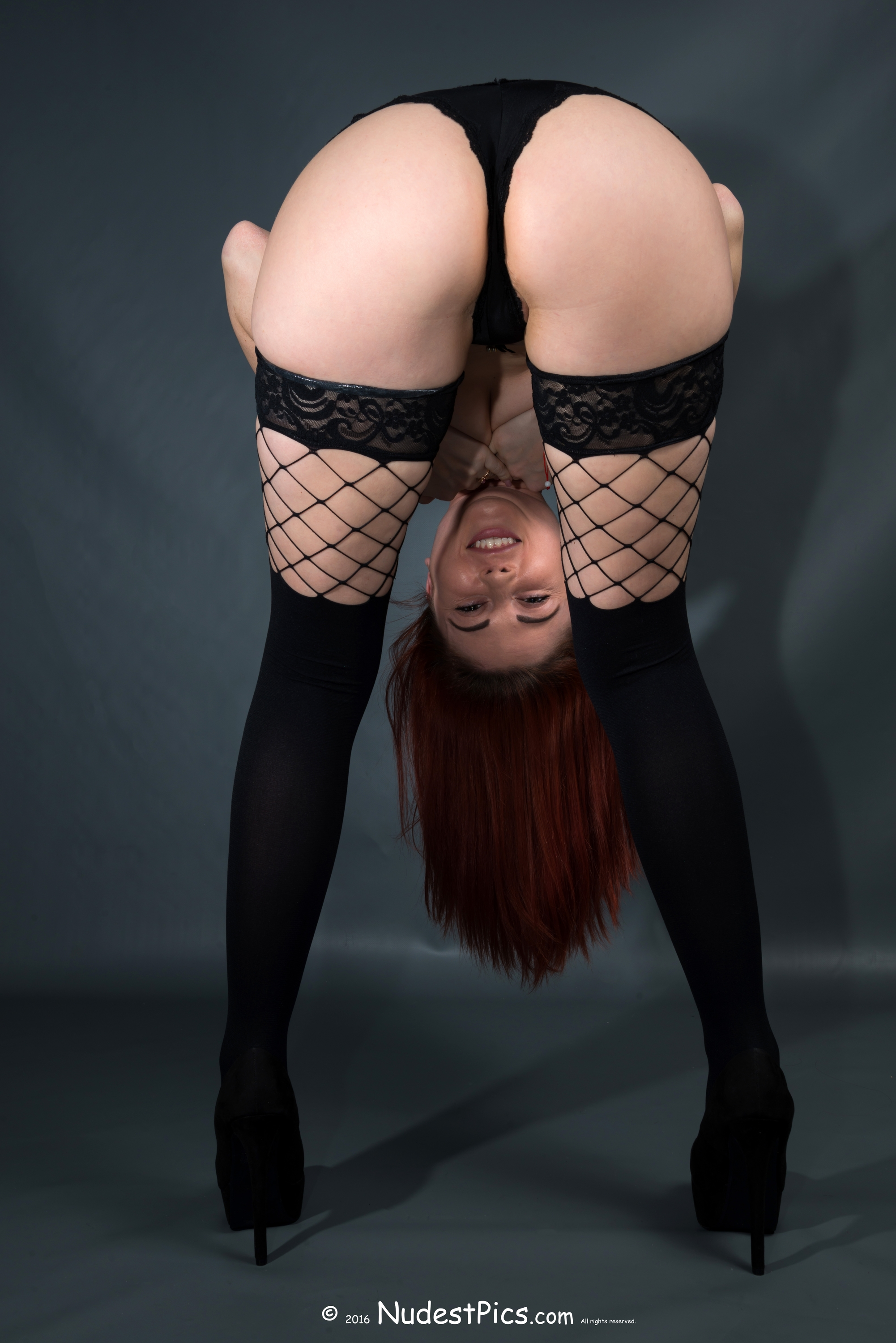 Bent Over Redhead Babe with Hot Lingerie Free Full HD ...