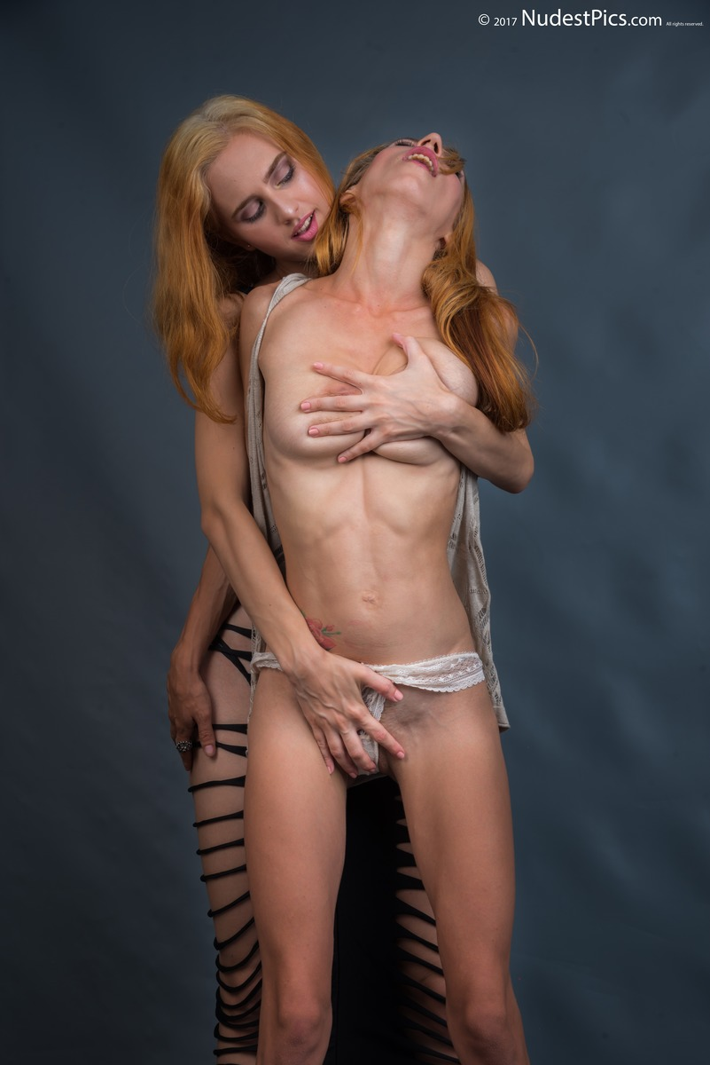 Lust and Passion of Lesbian Touching