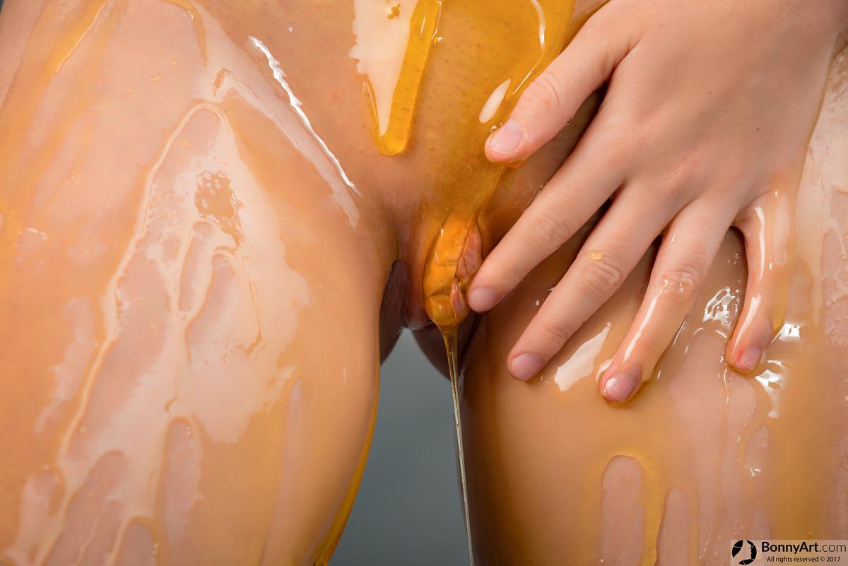 Rubbing Vulva with Honey.jpg